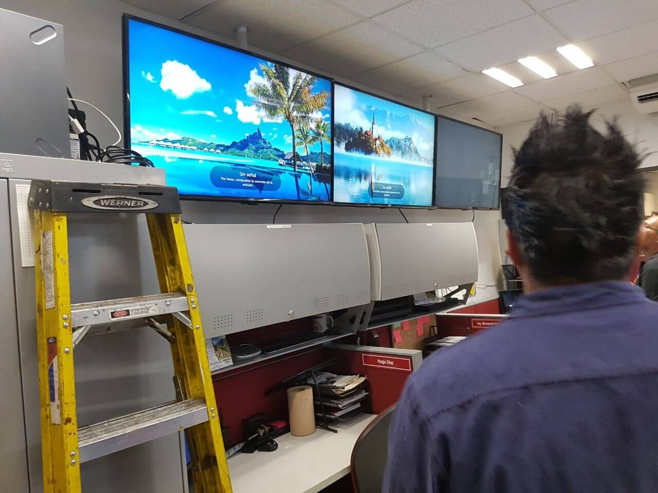 Fabricación de Video Wall